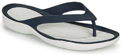 Blauwe Teenslippers Crocs SWIFTWATER FLIP W