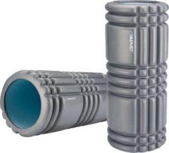 Antraciet-grijze Avento Massage Roller Foam - Profiel - Antraciet/Lichtblauw