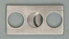 Zilveren Merkloos / Sans marque Sigarenknipper metaal - rechthoekig