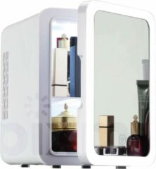 Witte PIXMY ® - Skincare Fridge - 4L Inhoud - Mini Koelkast - Met Spiegel En Ledverlichting - Skincare Koelkast - Make Up Koelkast - PISCF21LED