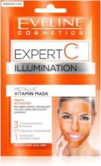 Eveline Cosmetics Expert C Illumination Metallic Vitamin Face Mask 2x5ml.