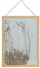 BePureHome Potpourri Fotolijst Bloemen met houten rand 40x30