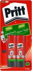 Transparante Pritt Stift Original - 2x22 Gram - Pritt Stift