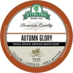 Stirling Soap Co. scheercrème Autumn Glory 165ml
