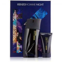 Kenzo Homme Night Confezione Regalo 100ml EDT 50ml Gel Doccia Portafoglio