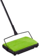Teppichkehrer auch für glatte Böden und bei Tierhaaren Wenko grün
