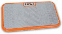 Oranje VibroShaper Trilplaat Fitnessplaat Body Shaper