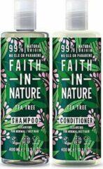 Faith in nature tea tree shampoo en conditioner