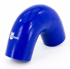 Universeel Bonrath Siliconen slang 135 graden bocht - Lengte:50mm - Ø57mm