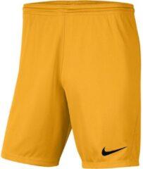 Nike Park III Sportbroek - Maat 158 - Unisex - goud