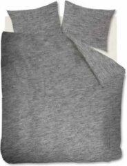 Donkergrijze VTWonen Comfy - Dekbedovertrek - Lits-jumeaux - 260x200/220 cm - Donker grijs