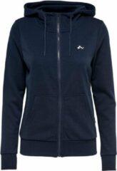 Only Onpelina Zip Hooded Sweat dames sportsweater petrol
