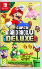 Rode Nintendo Super Mario Bros Deluxe game - Nintendo Switch