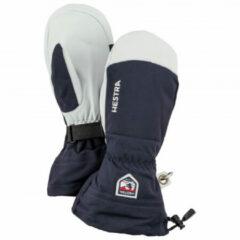 Blauwe Hestra - Army Leather Heli Ski Mitt - Handschoenen maat 11 blauw/grijs