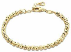 Goudkleurige Casa Jewelry Armband Brighter - Zilver - Goud Verguld