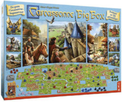 999 Games 999games bordspel Carcassonne Big Box 3
