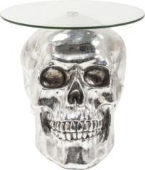 Beistelltisch Big Skull transparent Ø57cm