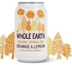 Whole Earth Sparkling orange/lemon 330 Milliliter