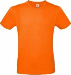 Bc Oranje t-shirt met ronde hals voor heren - basic shirt - katoen - Koningsdag / Nederland supporter 2XL (56)