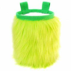 Groene Crafty Climbing - Furry Chalk Bag - Pofzakje groen