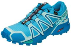 Salomon Speedcross 4 GTX Women Damen Laufschuh Größe UK 6,5 aquarius/beach glass/hawaiien surf