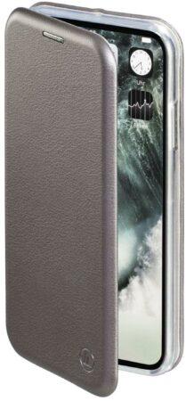 """Afbeelding van Antraciet-grijze """"Hama Booklet """"""""Curve"""""""" voor Apple iPhone X, antraciet"""""""