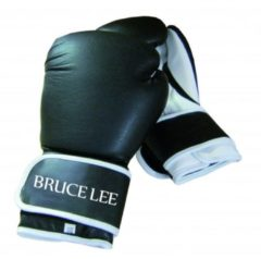 Bruce Lee bokshandschoenen Allround zwart/wit maat 8oz