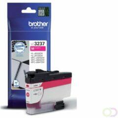 Paarse Brother LC-3237M inktcartridge Origineel Magenta 1 stuk(s)