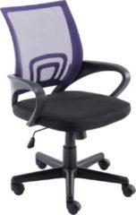 Clp Genius Bureaustoel - Netbekleding - Lila