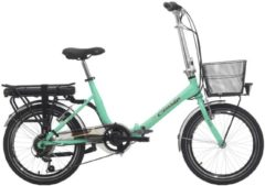 Cicli Cinzia 20 ZOLL ELEKTRO KLAPPFAHRRAD 6 GANG CINZIA SFERA E-Bike Damen grün