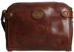 The Bridge Crossbodytas Story Donna Rundleer - cognac
