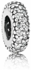 Zilveren Pandora Abstract silver spacer with cubic zirconia 791359CZ