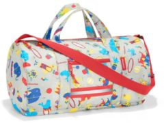 Kindertasche mini maxi dufflebag S kids Reisenthel cats and dogs rose