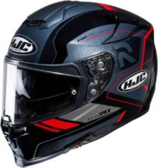 HJC RPHA 70 Coptic Mc1 Zwart Grijs Rood Integraalhelm - Motorhelm - Maat XL