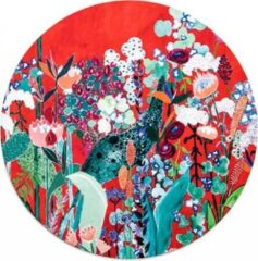 Paarse Moodadventures | Muismatten | Muismat Rond Wildflowers 20x20 cm