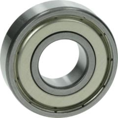 Tegran Kugellager 6203 ZZ NTN/SNR (17 x 40 x 12 mm, staubdicht, beidseitig mit Metallabdeckscheibe) für Waschmaschinen 50061782004