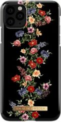Zwarte IDeal of Sweden - iPhone 11 Pro Max Hoesje - Fashion Back Case Dark Floral