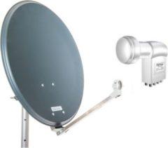 Opticum QA60 mit Octo-LNB, Sat-Spiegel