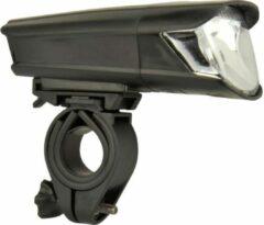 Fischer Fahrrad Koplamp 85353 LED werkt op batterijen Zwart
