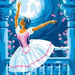 Sequin Art Schilderen Op Nummer Ballerina