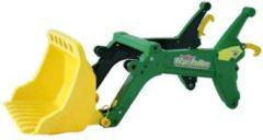 Groene Rolly Toys voorlader RollyTrac John Deere groen/geel