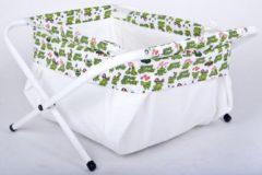 Groene Losse badzak voor Bibabad Ultra Light van 65x65 cm - kikker