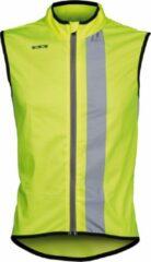 Wowow Maverick Fietsshirt - Maat S - Unisex - geel/zwart/zilver