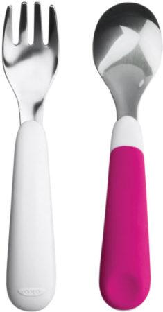 Afbeelding van Roze OXO Tot Vork en Lepel Pink
