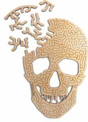 Kaboomlaser Skull   Houten Puzzel   Entropy serie   51 stukjes