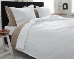 Sleeptime Elegance Sleeptime Clara - Bedsprei - 260x250 cm + 2 kussenslopen 60x70 cm - Wit