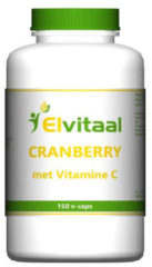 Elvitaal Cranberry + 60 Mg Vitamine C (150st)