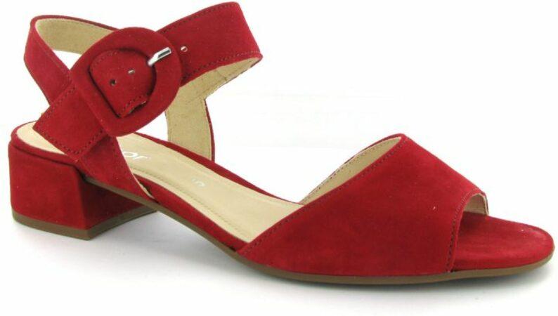 Afbeelding van Rode Sandalen Gabor Best Fitting Dames 40