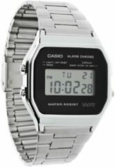 Zilveren Casio Collection A158WEA-1EF - Horloge - Staal - Zilverkleurig - Ø 33.2 mm
