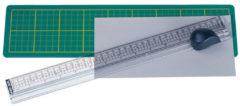 Snijliniaal Alco met mat 380x100mm, snijvlak tot 33cm.